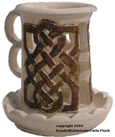 Celtic Candle Holder