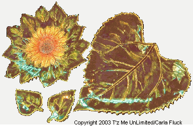 Sunflower Serving Dishes